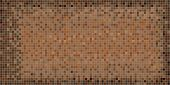 Brown Abstract Mosaic Background - Illustration,  Squares Of Light And Dark Brown Color,  Brown Shap poster