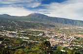 Orotava valley and volcano Teide (Tenerife)