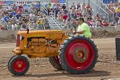 Minneapolis Orange & Red Tractor