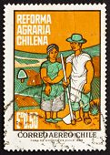 Postage stamp Chile 1968 Farm Couple