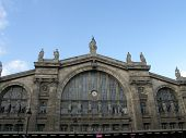 image of gare  - Gare Du Nord Train Station in Paris France - JPG