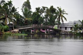 picture of alleppey  - Islands of Alleppey - JPG