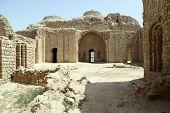 picture of shiraz  - Inner yard of Ardeshir - JPG