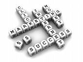 Internet Marketing - Dice Crossword game