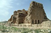 picture of shiraz  - Ruins of Ardeshir - JPG