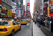 Traffic Times Square