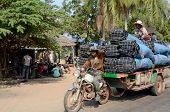Street scene Phnom Penh