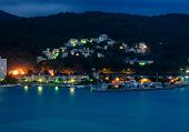 Ocho Rios Bay Night Scene