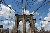 Brooklyn Bridge Closeup