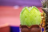 Cantaloup Carving 15