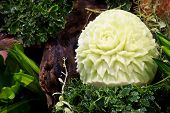Cantaloup Carving 3