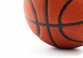 Basket Ball Isolated On White Background