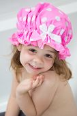 Child having a bath