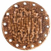 Reverse Side Of Bronze Pendant