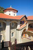 Kikkos mosteiro nas montanhas de Troodos