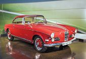 MUNICH, GERMANY - JUNE 17, 2012: : Bmw 503-series Roadster On Stand In Bmw Museum in June 17th , 201