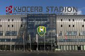 NETHERLANDS, THE HAGUE - DECEMBER 2013: Kyocera stadium premier league football club ADO Den Haag.