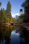 Half Dome And Sentinel Bridge