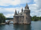 Boldt Castle on Ontario Lake