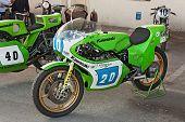Vintage Racing Motorcycle Kawasaki Kr 350