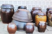 Korean Ceramic Pottery Old Traditional