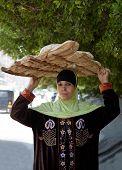 Woman Bread Seller