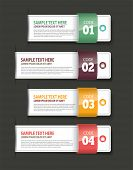 stock photo of reaction  - Set of Paper Tag Labels Exclusive template design - JPG