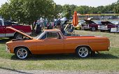 1966 Orange Chevy El Camino