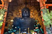 The Great Buddaha (Daibutsu) at Todaiji Temple in Nara