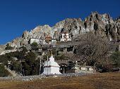 Old monastry in Braga, Nepal
