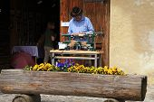Artisans Make Craft In Gruyeres, Switzerland