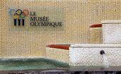 Olympic Museum In Lausanne, Switzerland