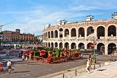 Arena In Verona Italy