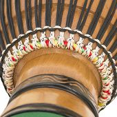 Detail of an African Djembe