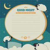 Memo template_sheep