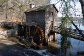Geórgia de montanha de pedra Grist Mill