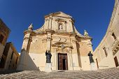 foto of gozo  - Cathedral of the Assumption of Gozo - JPG