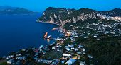 Marina Grande By Night, Capri Island, Italy