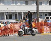 Margate September 5, 2009: Hero Thrill Show One Man Standing Stunt