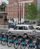 LONDON- JUNE 2: Holborn circus, one of londons traffic hotspots, reopens after camden council, impro
