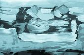 Background Abstract Drawing On Fabric Blue Color