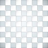 Glassy boxes blocks vector background