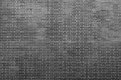 Texture Of An Old Bricklaying In Dark Black Tones
