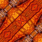 Beautiful Brown Background Pattern Made Of Common Commander Butterfly Wing Texture
