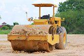 Soil compaction machine