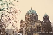 foto of dom  - Berlin Cathedral Church - JPG