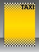 Taxi Company Brochure Design