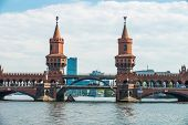 Oberbaum Bridge Berlin Germany