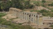 Ruined Bridge In Hampi