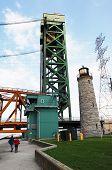 Tower Of Lift Bridge.